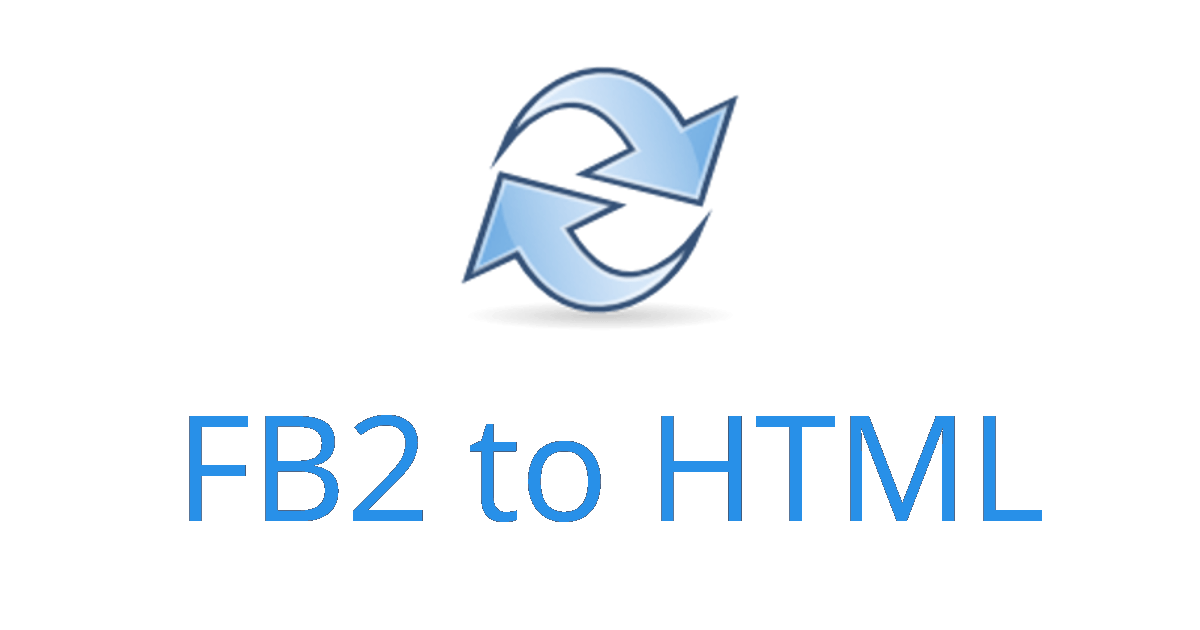 FB2 to HTML - Online Converter