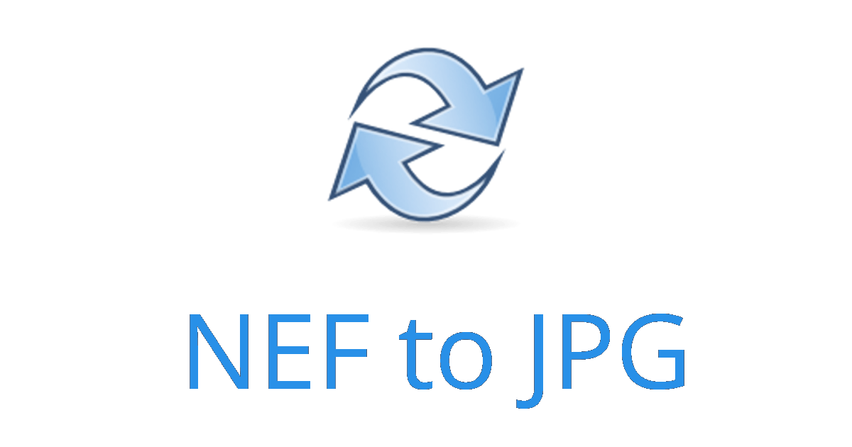 change nef file to jpeg