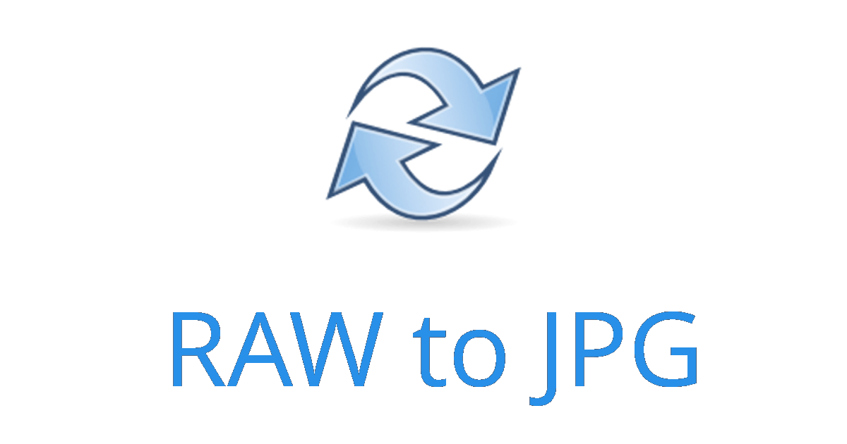 raw file to jpg converter